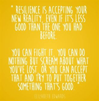 resiliency quote by elizabeth edwards