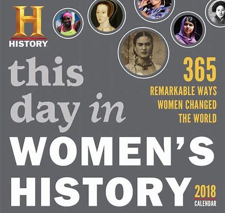 women history calendar